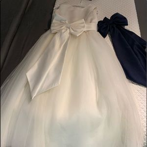 Flower girls dress or junior brides maid